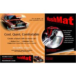 HushMat Ultra Trunk Kit - Thermal & Sound Insulation