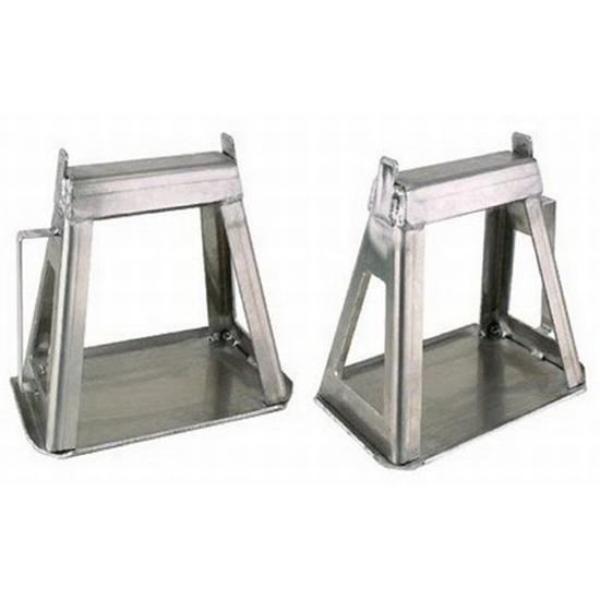 Speedway fixed height aluminum racing jack stands set of 2 for Stand modulaire aluminium
