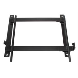 LH Black Universal Mount For Low Back Vinyl Seat, Left Hand Side