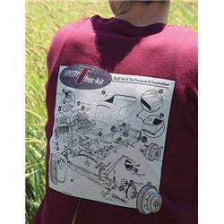 Speedway Exploded T-Buc-Kit Shirt