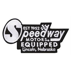 Retro Speedway Logo Patch