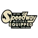 Speedway Retro Logo Chenille Patch