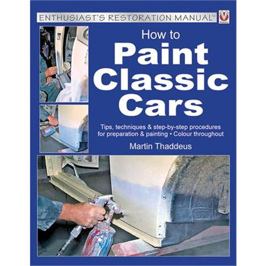 Book - How to Paint Classic Cars