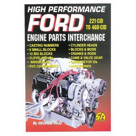 Book - High Performance Ford - Engine Parts Interchange