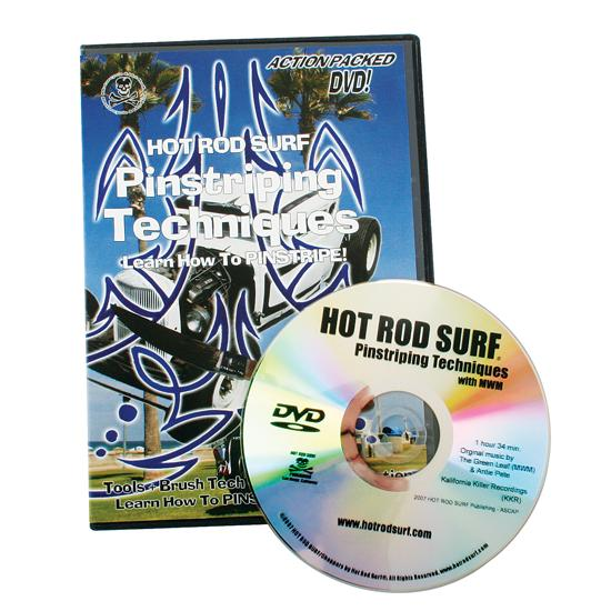 DVD - Pinstriping Techniques