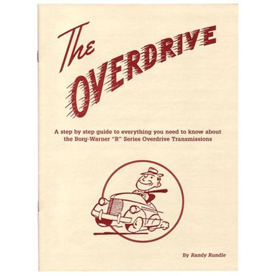 New Borg Warner Overdrive Guide Manual Book 24 Pages By