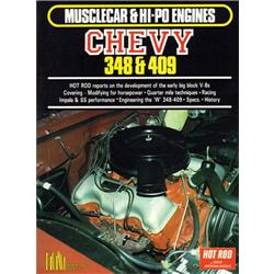 Book - Musclecar & Hi-Po Engines-Chevy 348 & 409