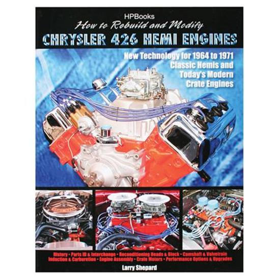 Book - How To Rebuild and Modify Chrysler 426 Hemi Engines