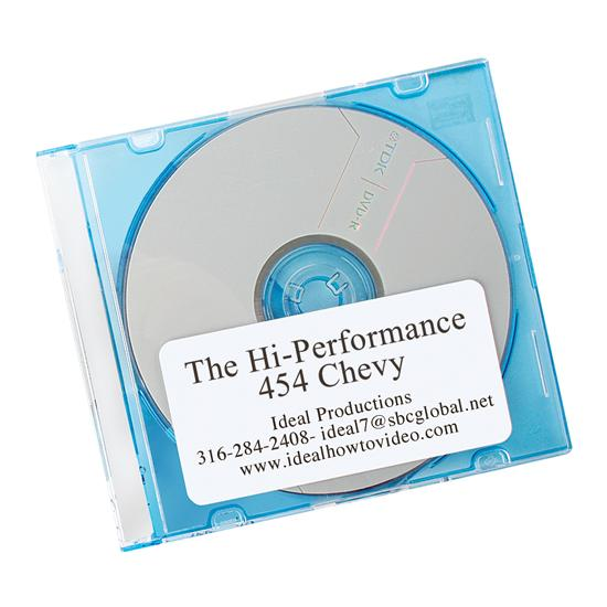 DVD - The Hi-Performance 454 Chevy