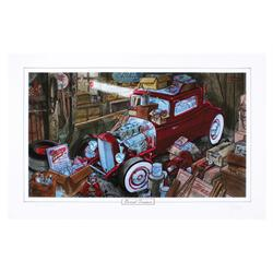 Limited Ed. George Trosley Print - Buried Treasure