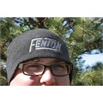 Fenton Embroidered Knit Beanie