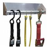 Multiple Ratchet Strap Hanger Rack