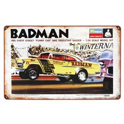 Badman Vintage Metal Sign