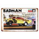 Badman Vintage Tin Sign