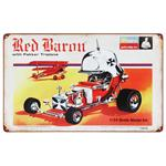 Garage Sale - Red Baron Vintage Tin Sign