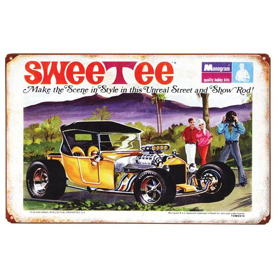 Sweetee Vintage Metal Sign