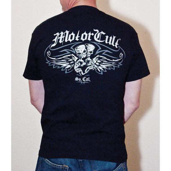 MotorCult Flying Piston Youth T-Shirt