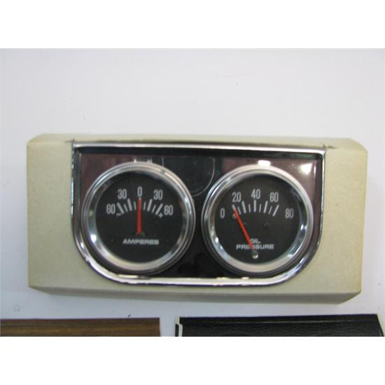 Garage Sale - 2 Gauge Panel, Amp Meter & Oil Pressure