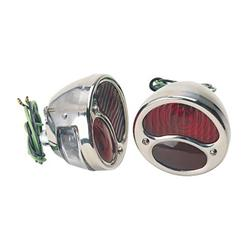 1928-1931 Ford Model A Stainless Tail Lights