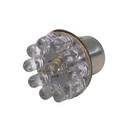 LED 1157 Tail Light Bulb, 1 Inch, Amber