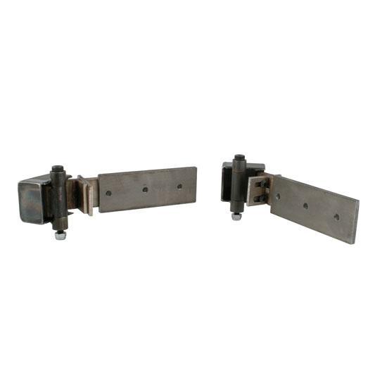 New universal hidden door hinges adjustable offset arm ebay for Hidden hinges
