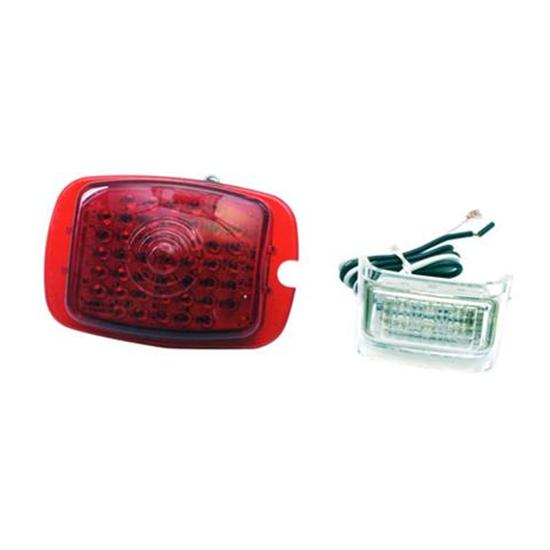 1937-1938 Chevy LED Tail Light Conversion Lens