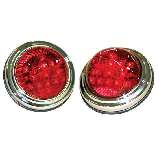 Technostalgia 6064 1940 1941 willys led tail lights free shipping speedway motors