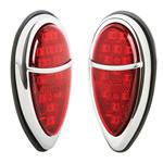1938-1939 Ford Mini Zephyr LED Tail Lights