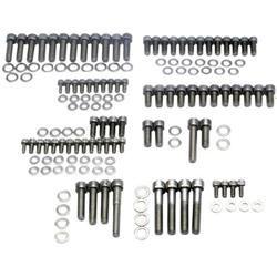 Speedway Small Block Chevy Stainless Engine Bolt Kit