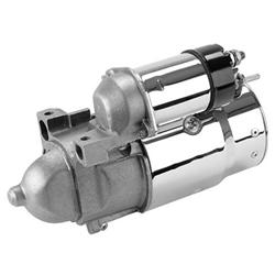 King Chrome 1955-86 Chevy Starter, 1.4 kW, 153-Tooth