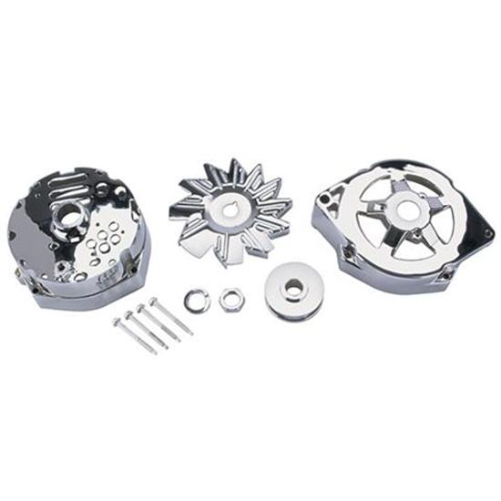 King Chrome 1969-Up GM Chrome Alternator Dress Up Kit