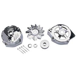 King Chrome Alternator Dress Up Kit for 1969-85 GM 10SI Alternators