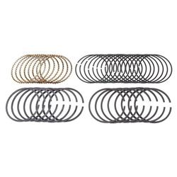 Speedway Plasma Moly Piston Rings, 4.00 Bore, Style D
