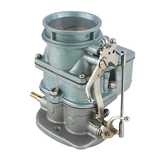 Primary 9 Super 7 3-Bolt 2-Barrel Carburetor, Plain Finish
