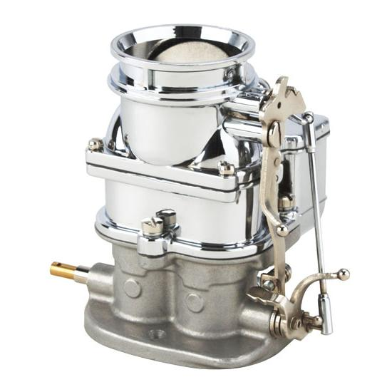 Speedy's 9 Super 7 ® Chrome Primary 3-Bolt 2 Barrel Carburetor