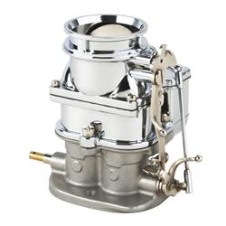 Primary 9 Super 7® 3-Bolt 2-Barrel Carburetor, Chrome Finish