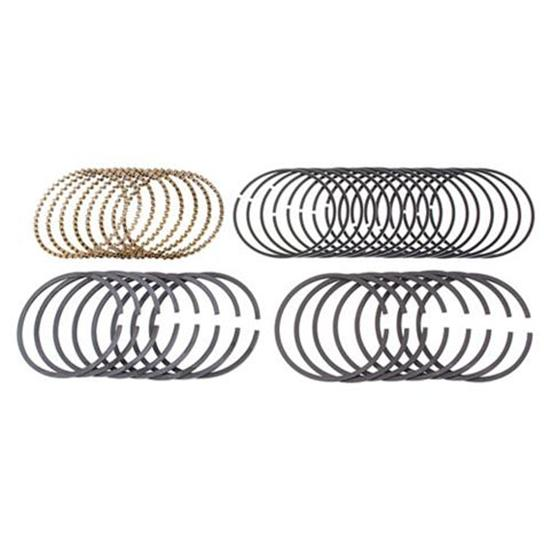 Speedway Gas Proven Series Piston Rings, 4.125 Bore, Styles A, B, C