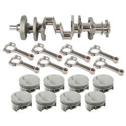 Light Forged S/B Chevy Assembly-434 Dome-6 Rod-350 Mains-.030 OS