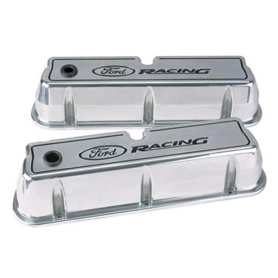 Ford Racing 302-001 Small Block Aluminum Valve Covers