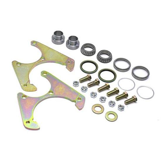 Basic Disc Brake Kit, 1969-77 GM Caliper to Early Ford Spindle, 5 on 4-3/4 Inch ...