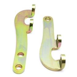Chevy Flat Plate Steering Arms, Plain
