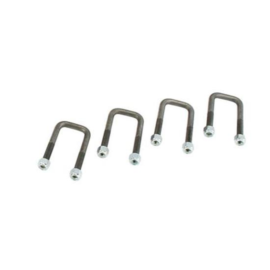 Speedway 1947-54 Chevy Half-Ton Axle U-Bolts, Set/4