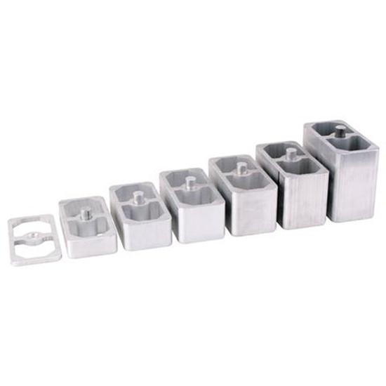Speedway Aluminum Extruded Leaf Spring Lowering Blocks