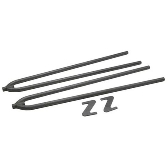 Classic 32 Inch Rear Radius Rods, Plain Steel