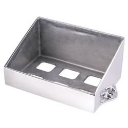 Speedway Raw Aluminum Battery Box, 6-3/4 x 10 In.