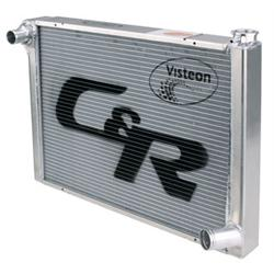C&R Radiators 802-26190 Chevy Aluminum Radiator, 19 x 26 Inch