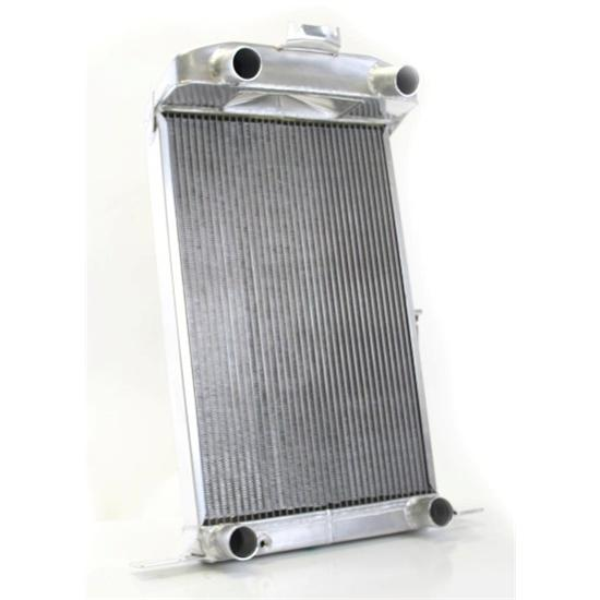 Griffin 4-237BD-HAA Flathead V8 Ford Radiator 37-39 Standard 38 Deluxe