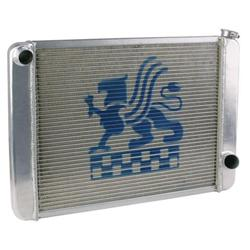Griffin Aluminum Racing Radiator - Single Row Core
