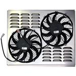 Dual 10 Inch Fan Shroud Combo, 22 W x 17 H