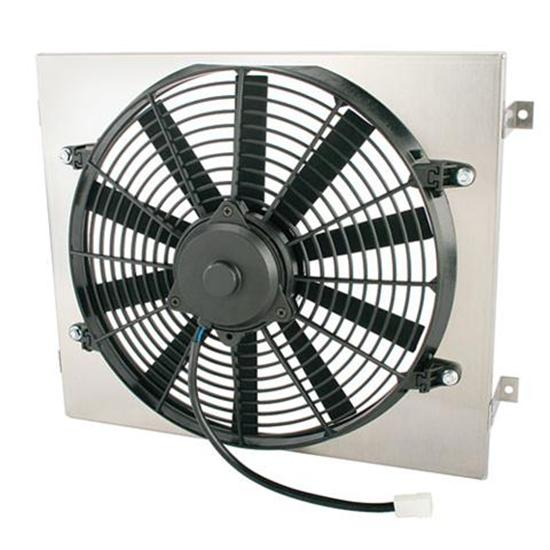 Single 14 Inch Fan Shroud Combo, 15 W x 18 H